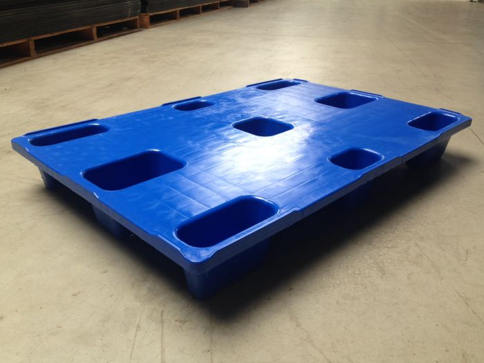 Reusable plastic pallet : LP 1208 CD Blue