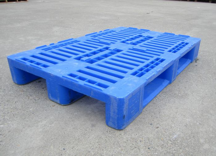 Used europallet H1 without stamp (Blue)
