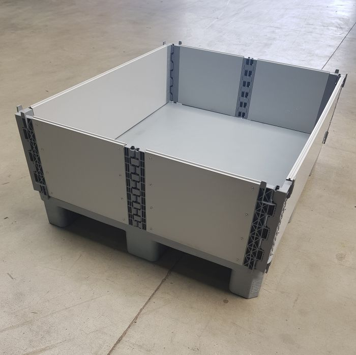 Used Plastic Pallet-collar 1200x1000 mm