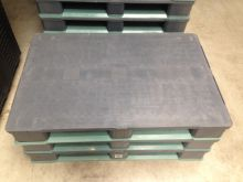 Food-pallet : 1200x800mm (Grey-Green) Steel re-inforced