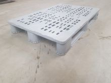 Used euro pallet Grey open deck