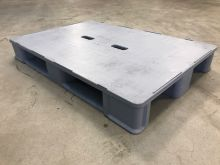 Used hygiene Pallet ,Grey with handhole