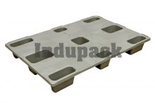 Plastic export pallet: LP 1208 CD (ECO)