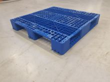 Used Pallet 1100x1100x150 mm (BLUE)