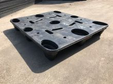Used plastic pallet : US-postal 1200x1000mm