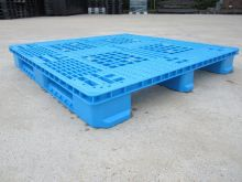 Used plastic pallet : 1100x1100x135mm